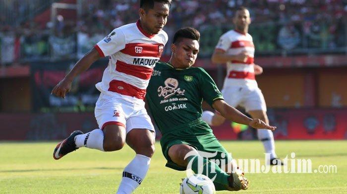 Takluk dari Madura United, Meski Persebaya Bermain Bagus, Novan Setya Sasongko: Belum Rezeki