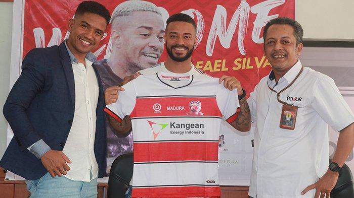 Jadi Pemain Asing Terakhir Madura United, Rafael Silva Pastikan Kondisi Fisiknya Tak Ada Masalah