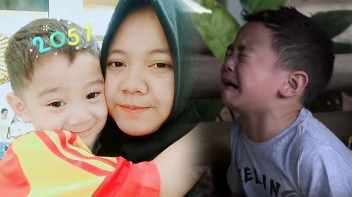 VIDEO: Terlalu Sayang, Rafathar Menangis Saat Raffi Ahmad Dorong Babysitter ke Kolam Pancing