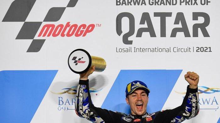 Di Balik Sukses Maverick Vinales Juarai GP Qatar 2021: Ternyata Baru Menikah dan Segera Jadi Ayah