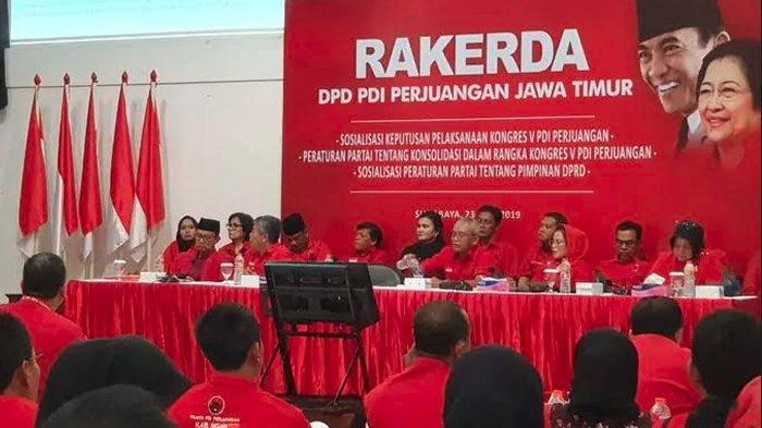 Gelar Rakerda Tertutup Bersama Sekjen, DPD PDIP Jatim Bahas Kongres yang Dipercepat