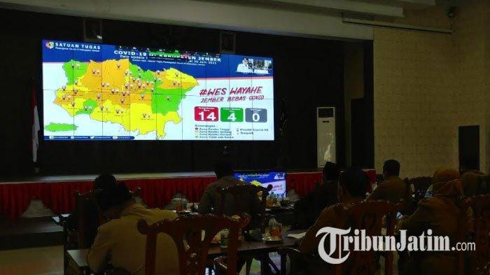 Satgas Covid-19 Kabupaten Jember Instruksikan Pengetatan Pengawasan di Tingkat Mikro