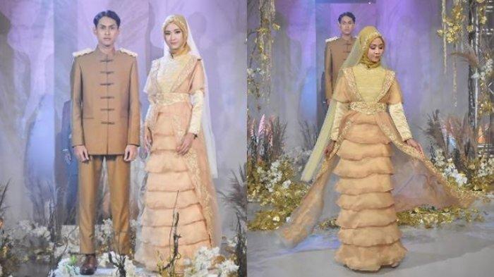 Terinspirasi Cerita Rakyat Palembang, Desainer Jihan Alya Rancang Busana Pengantin 'Art of Kemaro'