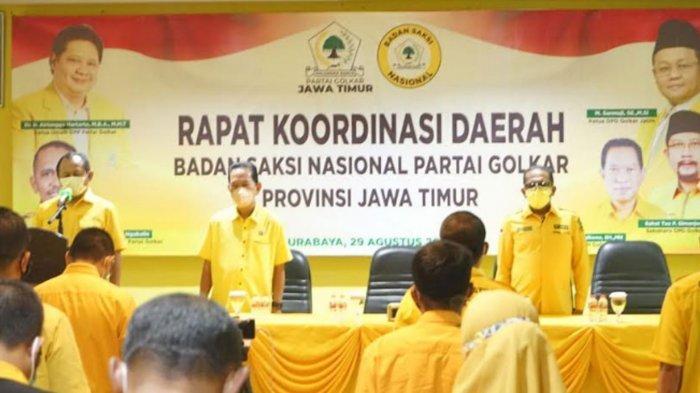 DPD Partai Golkar Jawa Timur Matangkan Persiapan Pemilu 2024, Tiga Hal Utama Jadi Perhatian