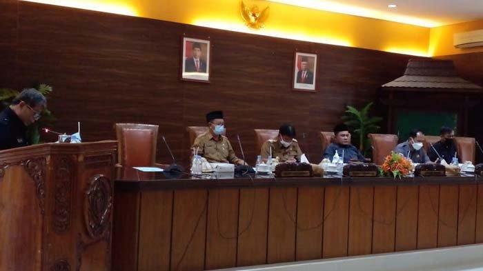 DPRD Nganjuk Gelar Paripurna Sampaikan Hak Interpelasi pada Bupati Terkait Perbup No 11 Tahun 2021