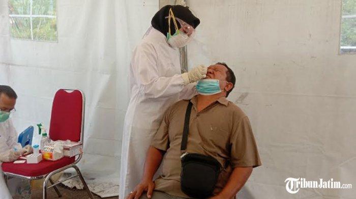 10 Pengemudi Rapid Test Antigen di Pos Exit Tol Madyopuro, Labkesda Ingatkan: Bawa Surat Kelengkapan