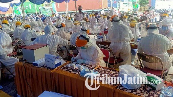 261 Pegawai Pabrik di Pasuruan Reaktif saat Rapid Test, Bakal Tes Swab Bertahap, 172 Orang Prioritas