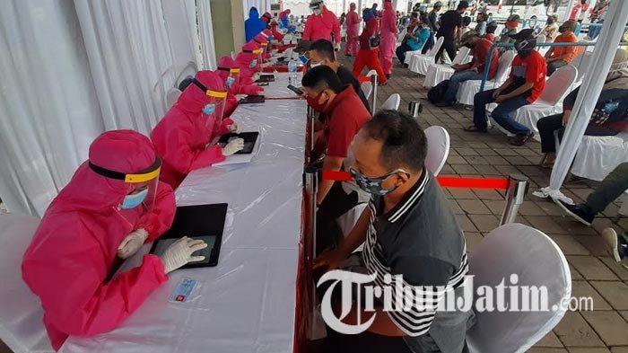 BIN Kembali Keliling Surabaya, Rapid Test dan Swab Massal di Wilayah Manukan, Ada 800 Peserta