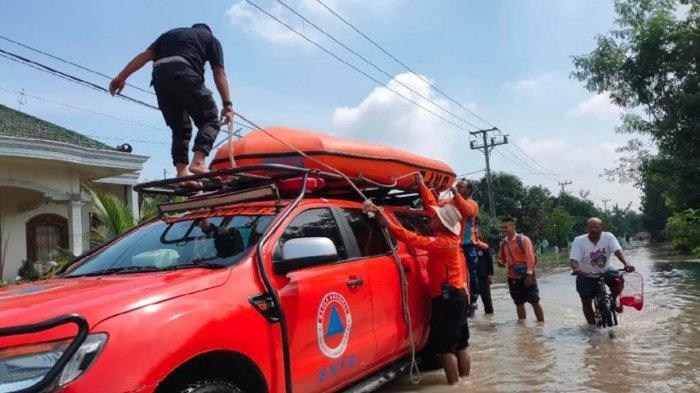 Ratusan Rumah Warga Dua Desa di Kesamben Jombang Tiga Hari Terendam Banjir