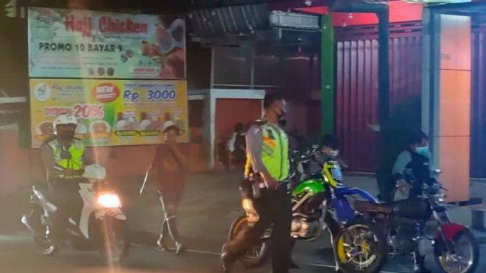 Razia Balap Liar di Kota Blitar, Polisi Amankan Puluhan Motor