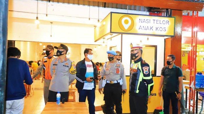 Jelang Berakhirnya PPKM Jilid II Polres Kediri Temukan Pelanggaran Kafe yang Buka Lewat Jam 8 Malam