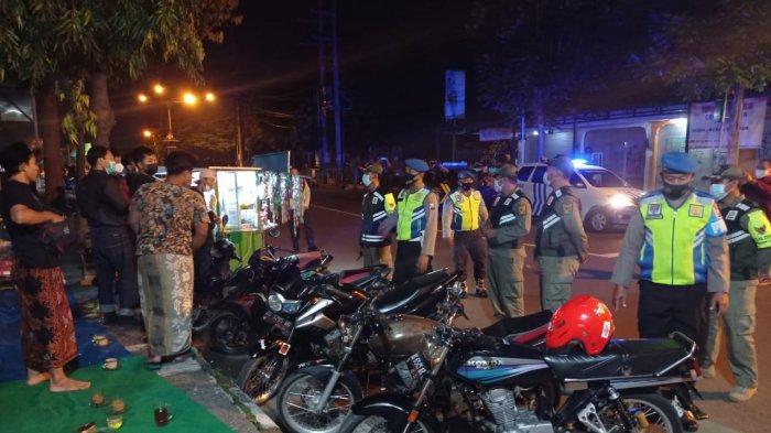 Patroli Gabungan Antisipasi Balapan Liar Malam Minggu di Kediri