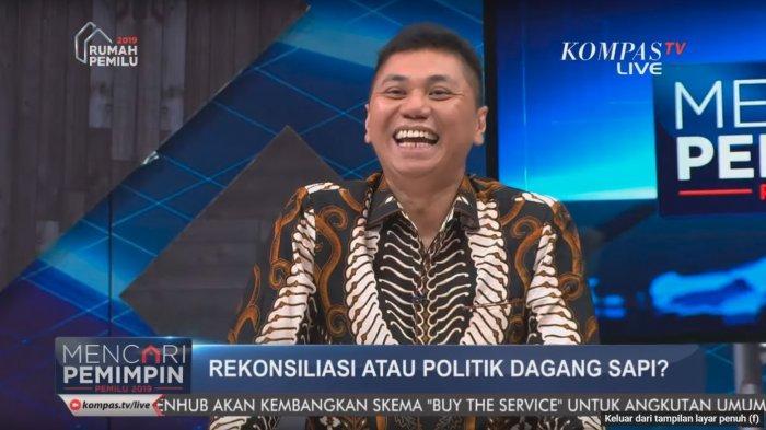 Jansen Tertawa Ditanya Mau atau Tidak Rekonsiliasi Tanpa Diberi Posisi Menteri, Nasdem Meledek