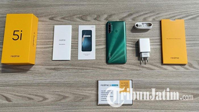 Realme 5i  Sudah Bisa Dibeli Secara Offline di Surabaya, Yuk Intip Spesifikasinya