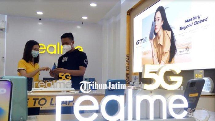 Realme Buka Official Store Pertama di Sidoarjo di Jalan Raya Suko