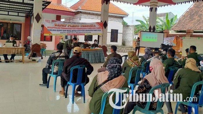 Update Rekapitulasi Penghitungan Suara di Pilkada Mojokerto 2020, KPU: Proses di PPK Capai 50 Persen