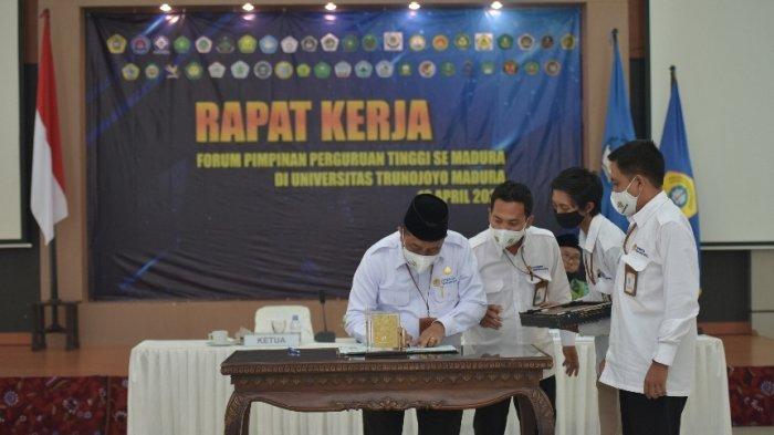 Forum Rektor se Madura Rapatkan Barisan di UTM Bangkalan, Jalin Pengembangan Program Studi dan SDM