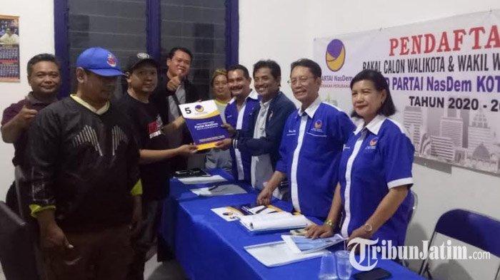 Mandala Shoji Ambil Formulir Pilwali Surabaya ke Nasdem, Relawan: Dia Punya Komitmen Bangun Surabaya