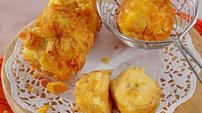 Resep Pisang Goreng Cornflake, Pakai Sereal Jagung Tambah Renyah, Cocok Dimakan Hangat-hangat!