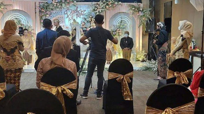 Resepsi Pernikahan di Kota Kediri Dihentikan Satgas, Masyarakat PPKM Level 4 'Akad Saja Dulu'