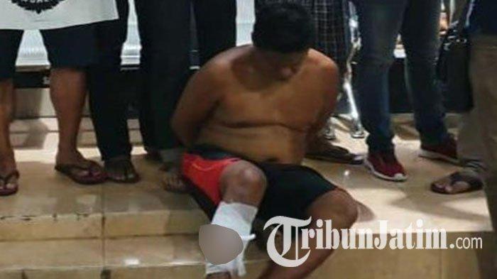 Pria Jombang Ini Bacok Korban Pakai Pedang Demi Rampas Ponsel Rp 650 Ribu, Ditembak Saat Mau Kabur