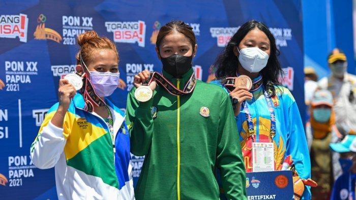 PON XX Papua 2021 - Renang Sumbang 1 Medali Emas dan 1 Medali Perak untuk Kontingen Jawa Timur