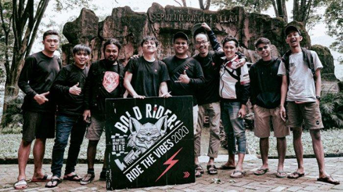 Bold Riders Surabaya Tutup Tahun dengan Ride The Vibes 2020, Jaga Solidaritas Sekaligus Bakti Sosial