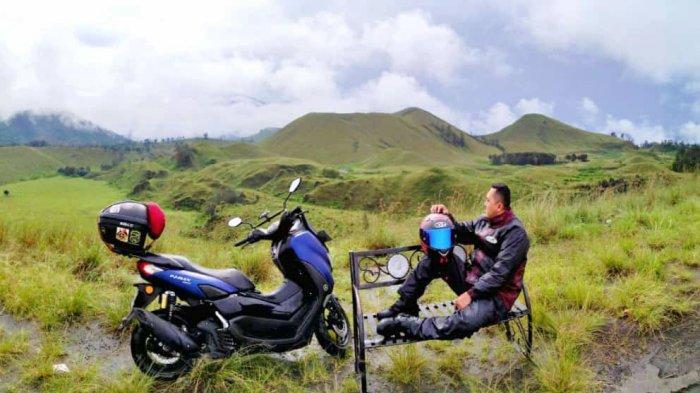 Lepas Penat, Rider Nmax Asal Surabaya Jelajahi Keindahan Alam Jatim, 'Y-Connect Jadi Andalan'
