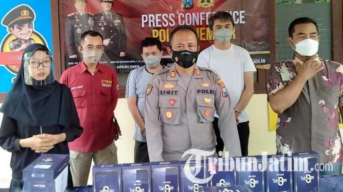 Polisi Tetapkan Seorang Lagi Tersangka Pencurian Tablet di SMKN 5 Jember, Diduga Kuat Jadi Penadah