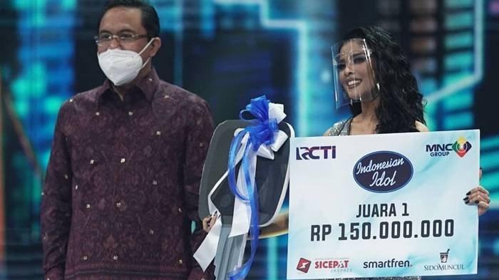 Rimar Callista Juara 1 Indonesian Idol 2021, Mark Jadi Runner Up, Bawa Pulang Mobil-Uang Rp 150 Juta