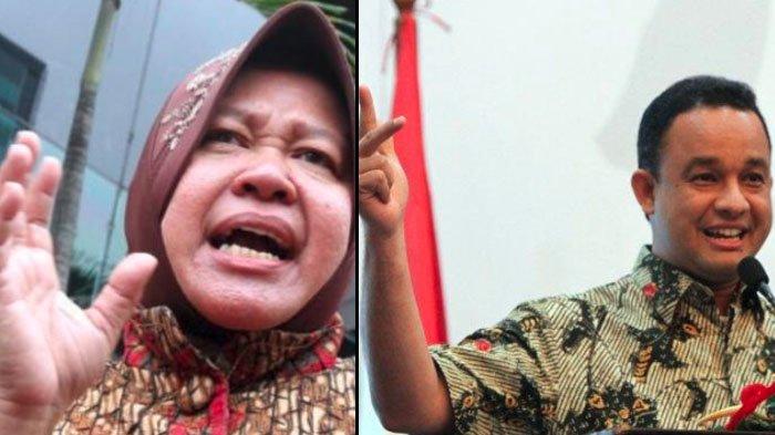 Perbandingan Reaksi Tri Rismaharini dan Anies Baswedan Soal Takbir Keliling, Kamu Setuju yang Mana?