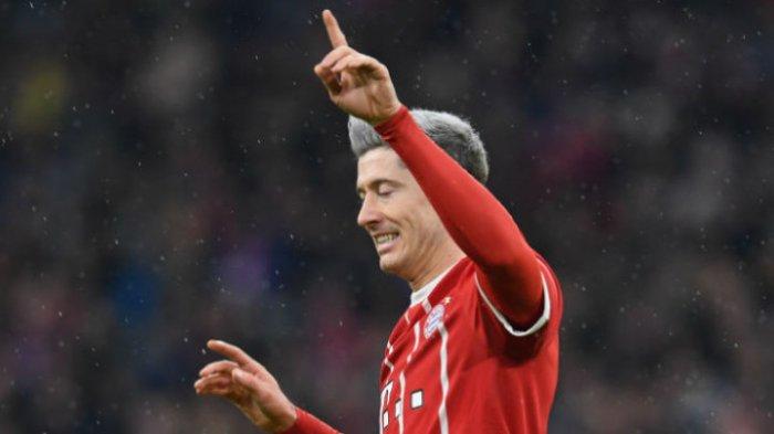 Lawan Koeln di Allianz Arena, Robert Lewandowski Jadi Pahlawan Bayern Muenchen