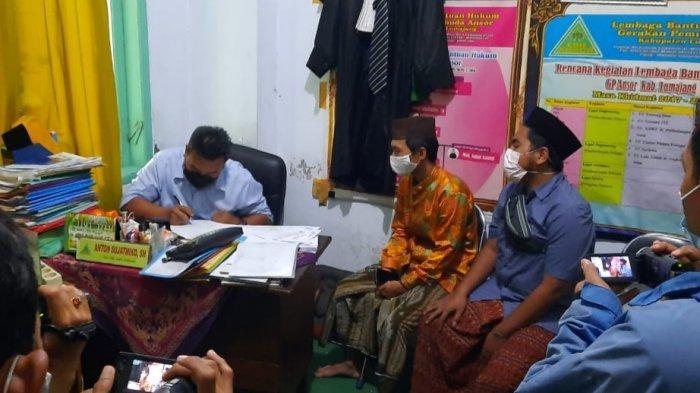 Dua Remaja Lumajang Lapor LBH Ansor Atas Dugaan Kasus Penganiayaan Satpol PP