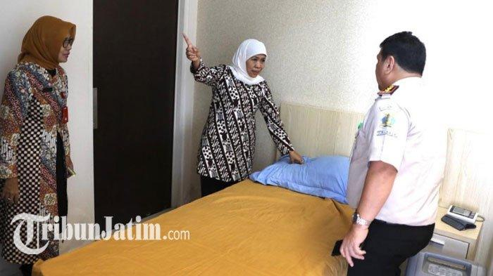Antisipasi Wabah Virus Corona, Gubernur Khofifah Siapkan Ruang Isolasi Permanen di 3 Rumah Sakit