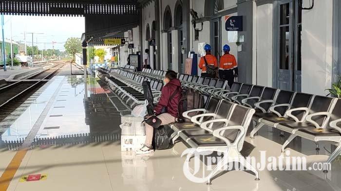 Jumlah Penumpang di Stasiun Probolinggo Menurun Drastis Selama Penerapan PPKM Darurat