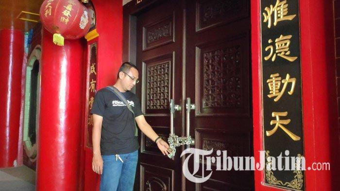 Kasus Penyegelan Ruang Kebaktian di Klenteng Kwan Sing Bio Tuban Disebut Karena Ulah Internal