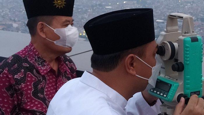 Breaking News, Hilal di Surabaya Tak Terlihat Akibat Awan, Pengumuman 1 Ramadan 2021 Menunggu Pusat