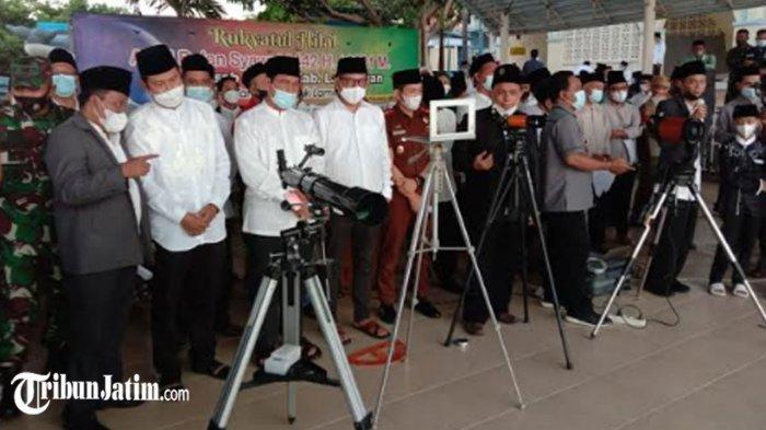 Hilal di Tanjung Kodok Tak Tampak, Idul Fitri 1442 H Muhammadiyah dan NU Jatuh Pada Kamis 13 Mei
