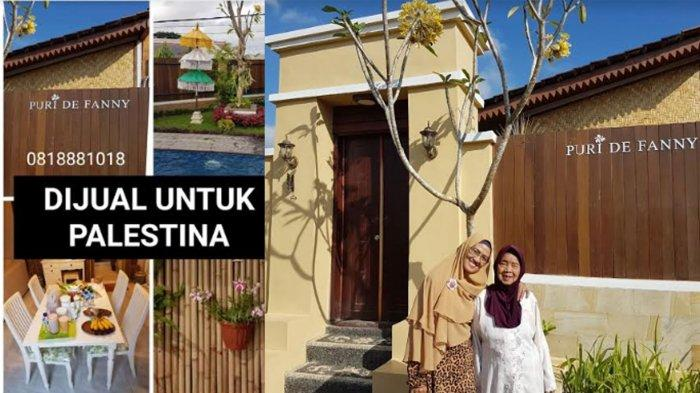 Puri de Fanny Dijual untuk Palestina, Bangunan Bergaya Rumah Osing di Banyuwangi, Segini Harganya