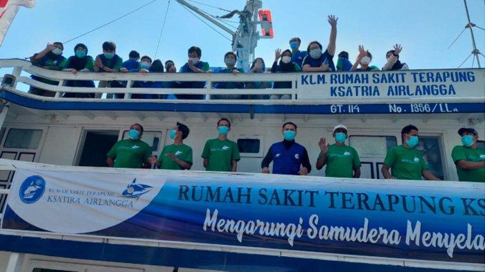 Misi MARCO-19, Rumah Sakit Terapung Ksatria Airlangga (RSTKA) Jalani Pelayanan untuk Madura Bangkit