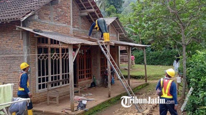 Kontraktor Bendungan Bagong Selesaikan Perbaikan Seluruh Rumah Warga yang Terdampak Peledakan