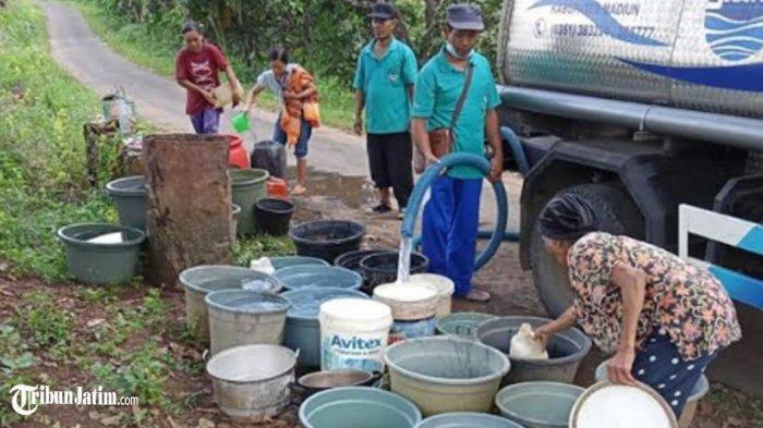 Pipa PDAM Kabupaten Madiun Terseret Banjir Bandang, Sumur Bor Batok Diaktifkan Guna Pasok Air Bersih