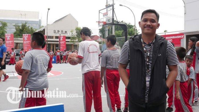 Intip Serunya Basketball Clinic Bareng Coach DBL Academy Surabaya, Belajar Main Basket dari Dasar