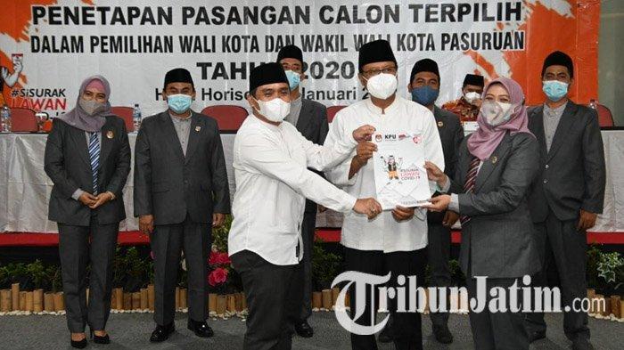 Jadi Wali Kota dan Wakil Wali Kota Pasuruan Terpilih, Gus Ipul-Mas Adi Akan Fokus Tangani Covid-19