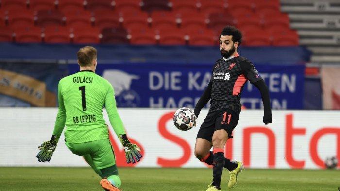 Hasil Liga Champions - Liverpool Maksimalkan Dua Blunder Bek RB Leipzig Jadi Gol Kemenangan