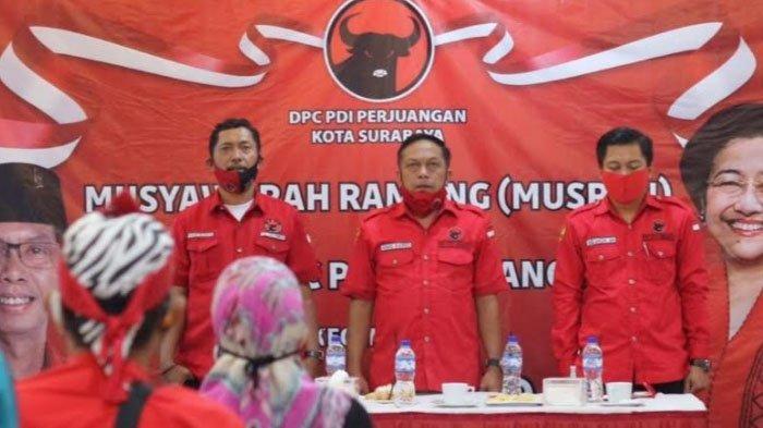 Jelang Turunnya Rekom untuk Pilkada Surabaya 2020, Kader PDI Perjuangan Solidkan Mesin Pemenangan