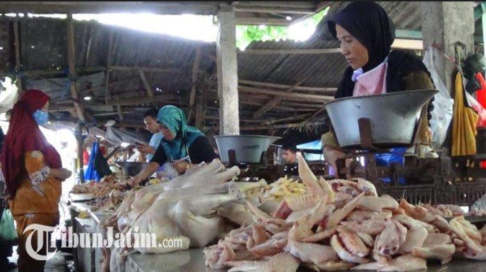 Jelang Ramadan, Harga Daging Ayam di Sumenep Melonjak Naik, Ayam Potong Tembus Rp 90 Ribu