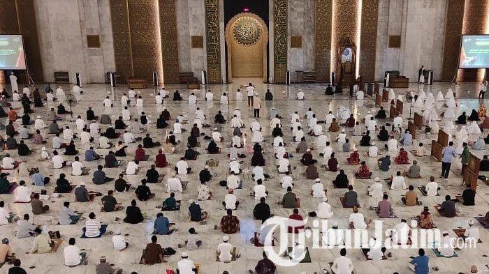 Pelaksanaan Salat Idul Fitri di Bondowoso Wajib Patuhi Protokol Kesehatan Covid-19