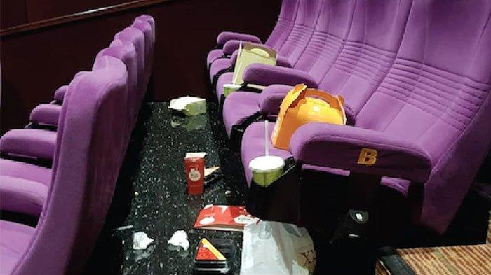 Ada Imbauan Membersihkan Sampah Sendiri Usai Menonton di Bioskop, Netizen Indonesia Berdebat