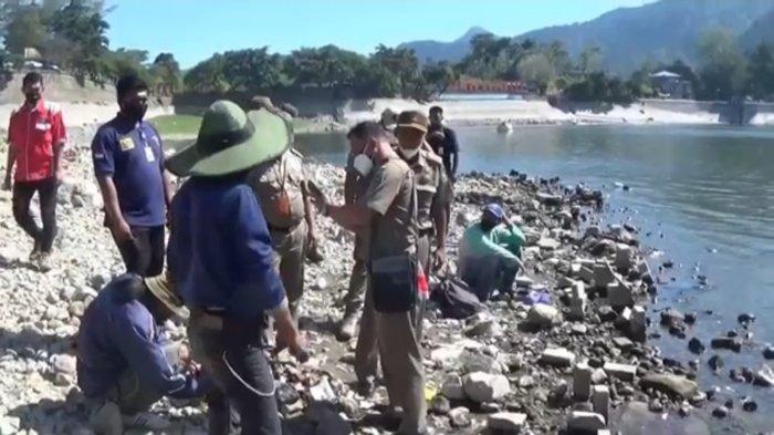 Satpol PP Magetan Razia Pemancing di Telaga Sarangan, Terkait Perbup Larangan Mancing